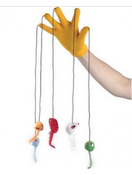 How To Make A Cat Toy Glove Ehow Homemade Cat Toys Diy Pet Toys Interactive Cat Toys