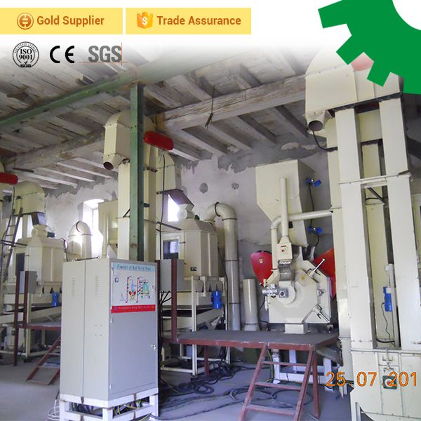 3 ton per hour automatic animal feed processing line project small