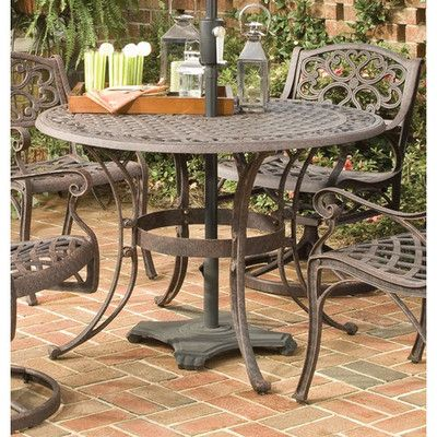 Home Styles Outdoor Round Dining Table Ebay Patio Dining Table Outdoor Patio Table Round Patio Table