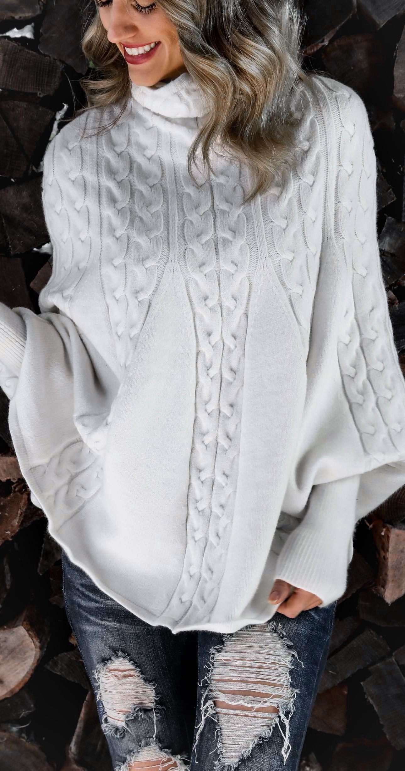 07a0b95189d75e Ivory Cable Knit Sweater by Seasalt & Honey | Fashion and stuff ...