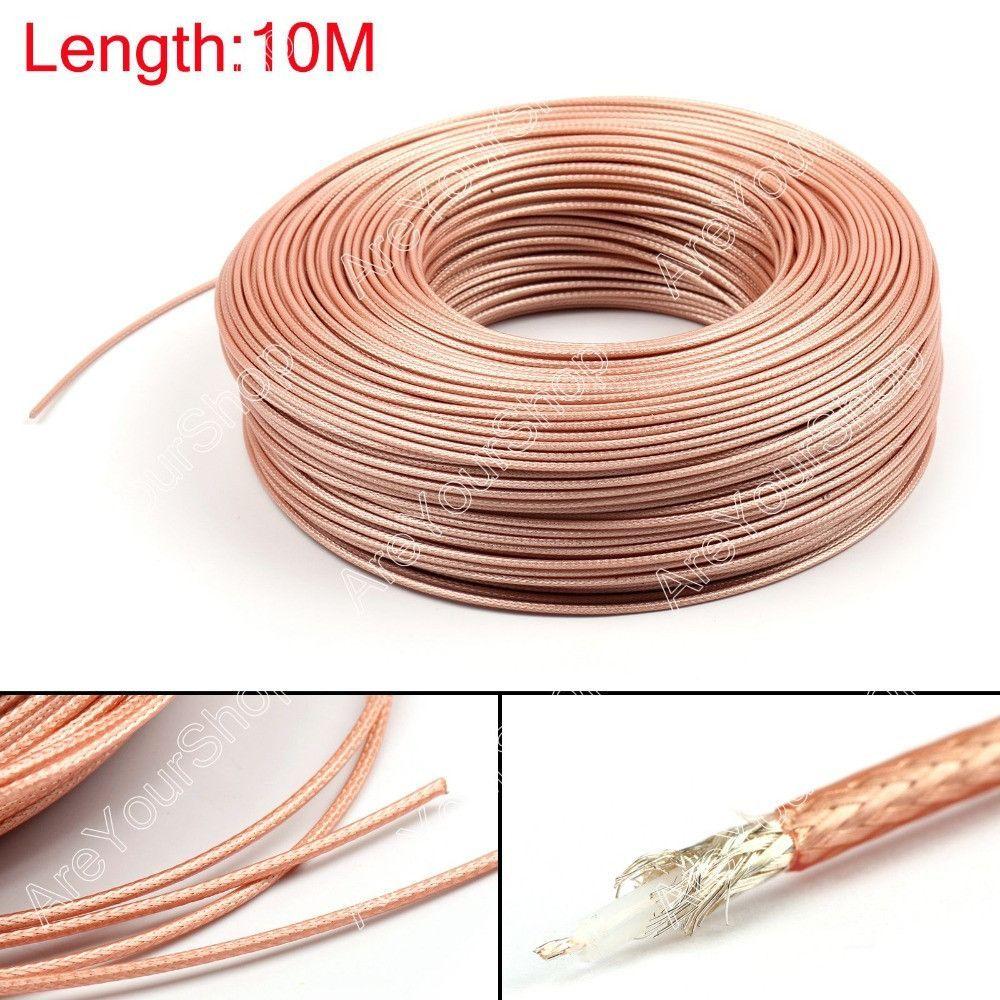 sale 1000cm rg179 rf coaxial cable connector 75ohm m17 94 rg 179 rh pinterest com
