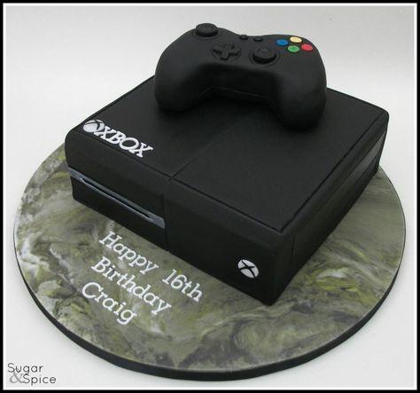 player 1  xbox for a 16th | teenie geburtstagskuchen, kuchen für jugendliche und birthday