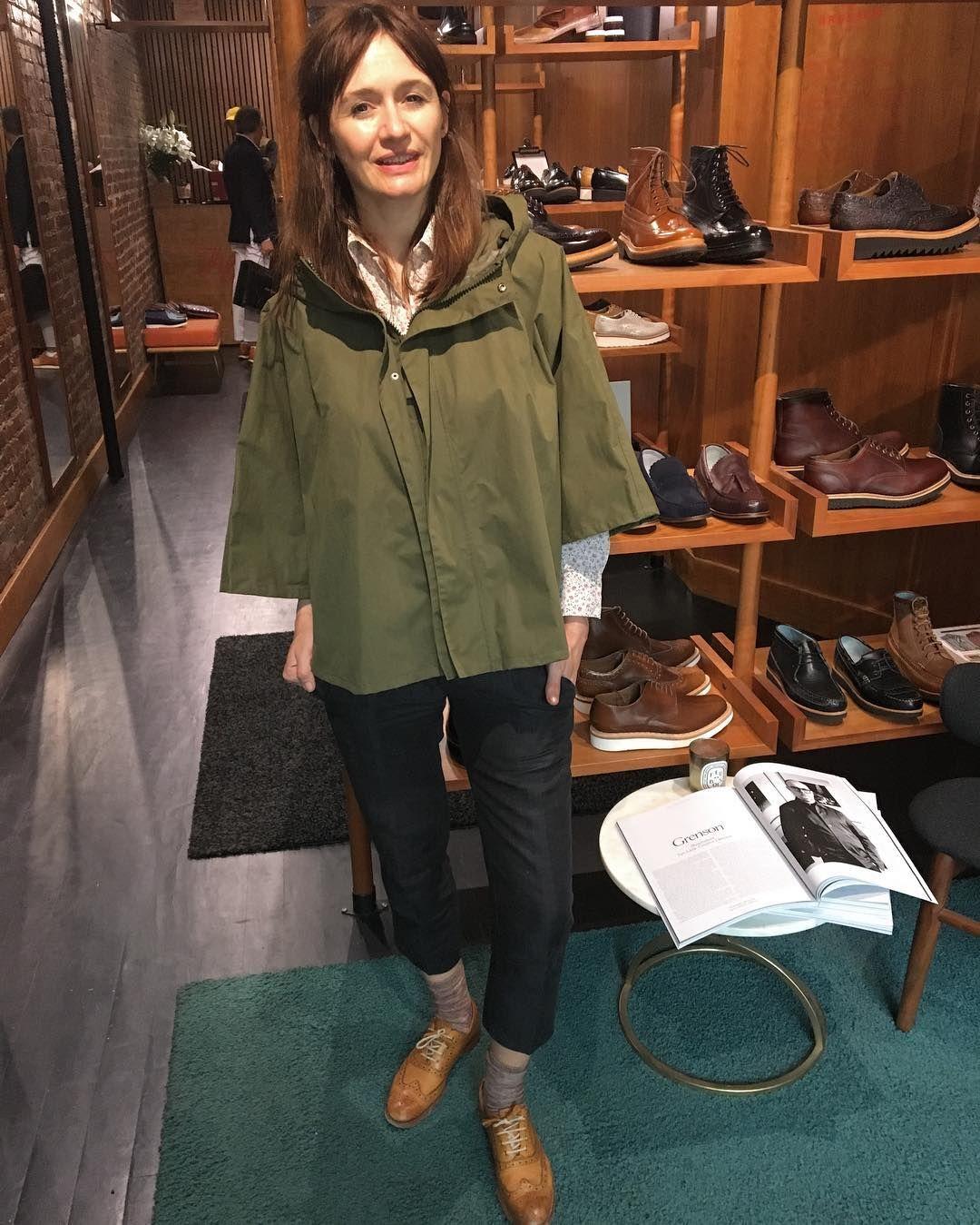 Emily Mortimer Emortimer In Martha In Our Ny Store On Elizabeth Street