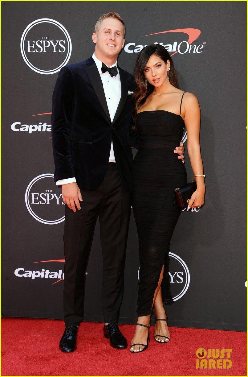 Rams Quarterback Jared Goff Model Christen Harper Confirm Their Relationship On The Red Carpet Christen Harper Jared Goff Model