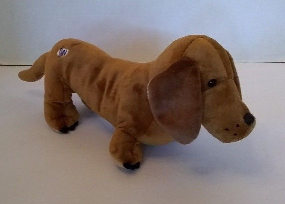 Ganz Webkinz 12 Cinnamon Dachshund Dog Puppy Hm 421 Plush Stuffed