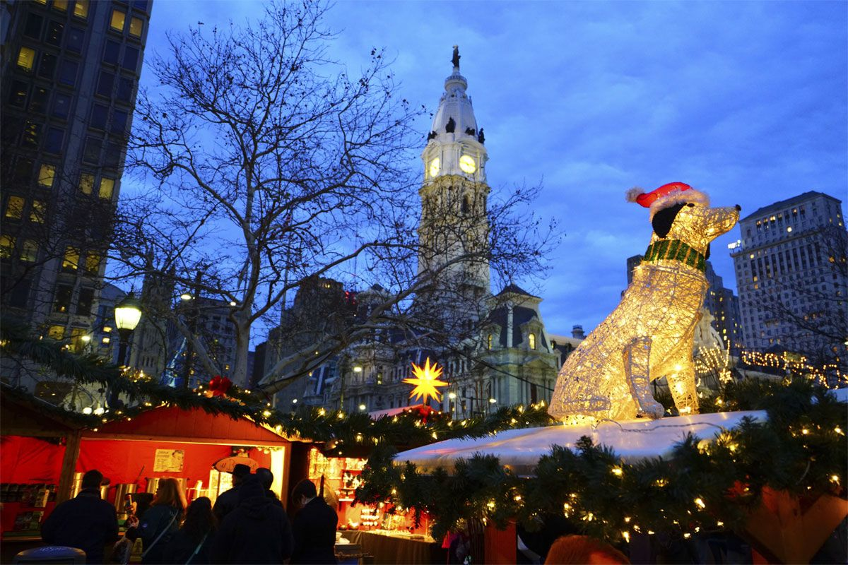 Christmas Village Love Park.Christmas Village Market To Move To A New Location This