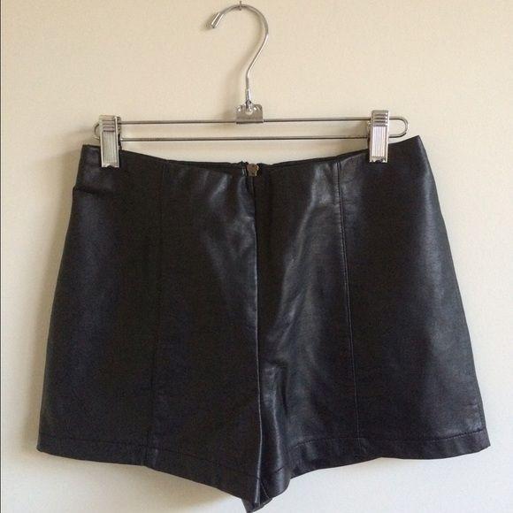 vegan leather booty shorts black vegan leather sparkle & fade booty shorts! soooooo hot Sparkle & Fade Shorts
