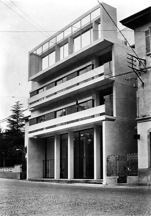 Casa Cesare Cattaneo Architecture Moderne Architecture