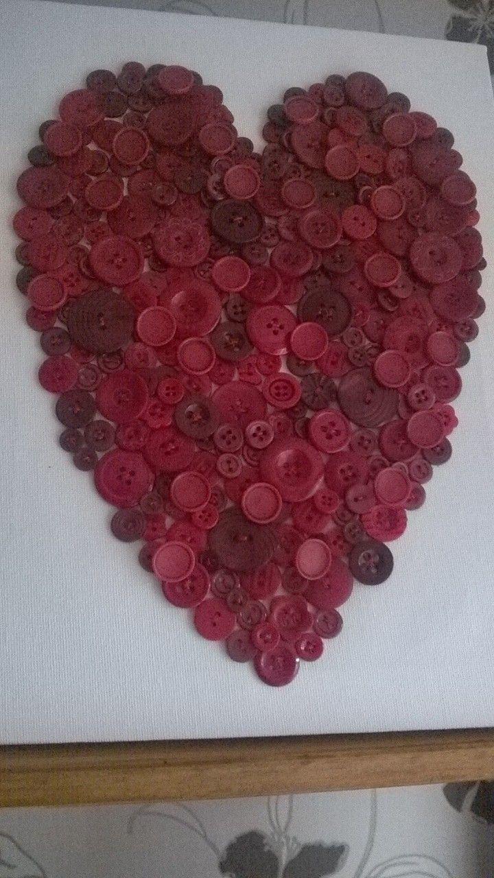 button heart for alan