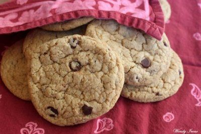 The Best Gluten-Free Chocolate Chip Cookies (Vegan) by Give Love Create Happiness