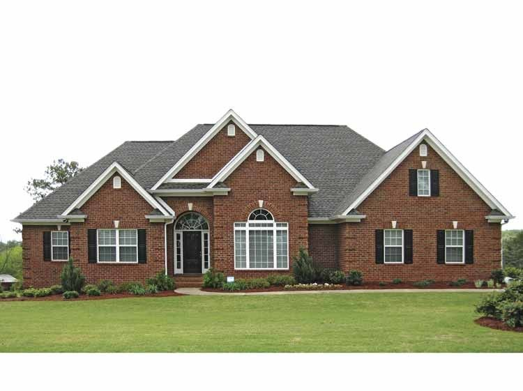 Perfect Traditional Brick Ranch   2310 Square Feet And 4 Bedrooms W/Lots Of  Walk Ins From Eplans Design Inspirations