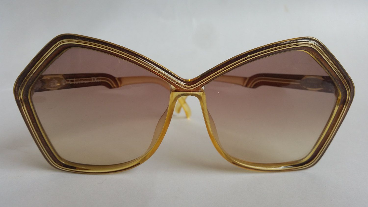 3a0f2668bc010 CHRISTIAN DIOR 2127 10 ~ Original VINTAGE Sunglasses - Mr Specs - Simon  Murray Eyewear Collection – Oversize Angular Design by MrSpecs on Etsy