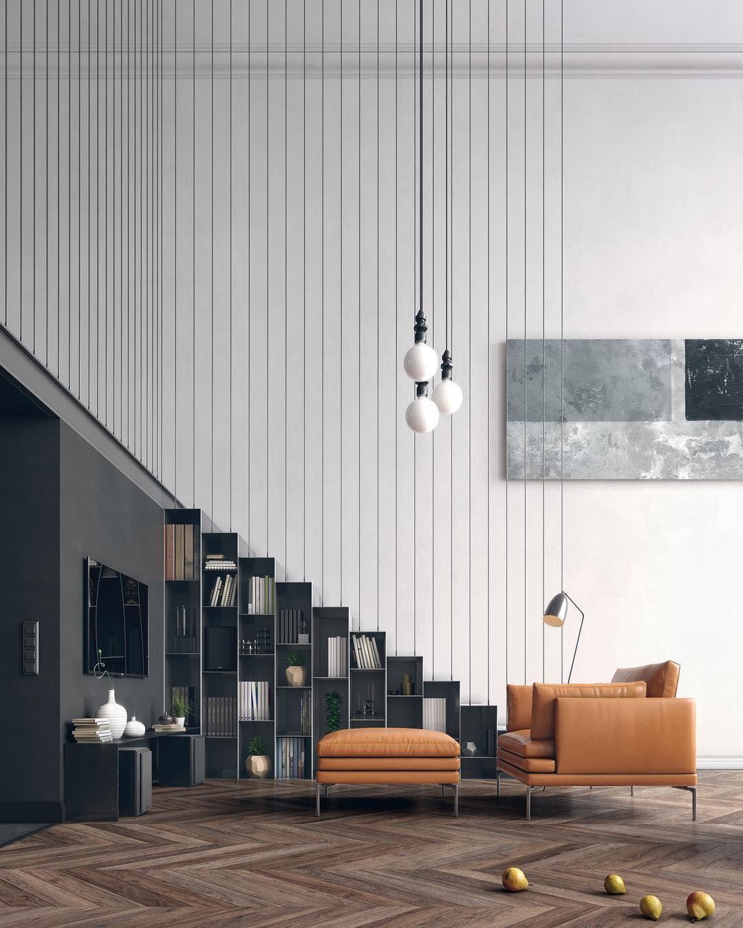 Best Duplex Apartment By Yan Baev Designandlive Stairs 640 x 480