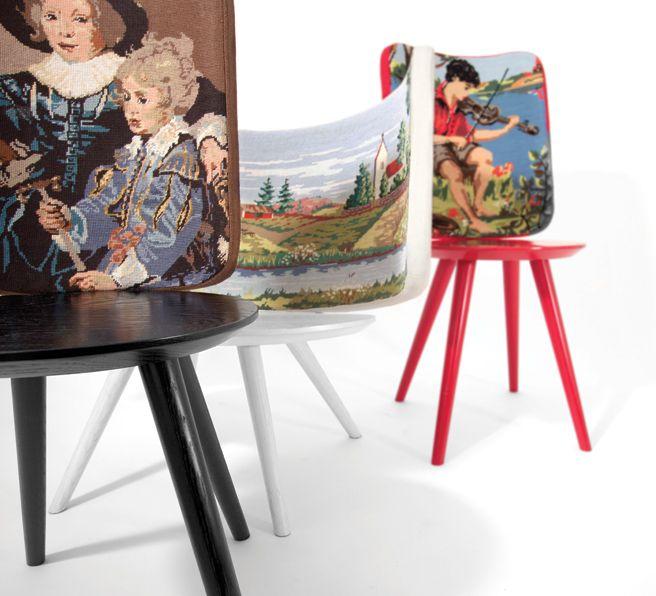 Johan Lindstén, Embroidery Chairs