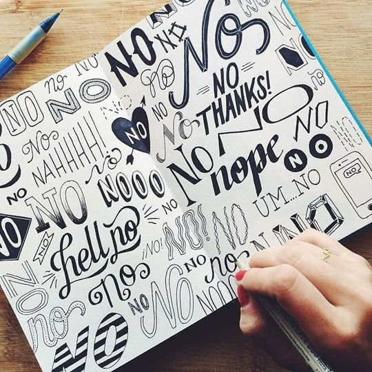 typographylovers | Typography | Hand lettering for beginners