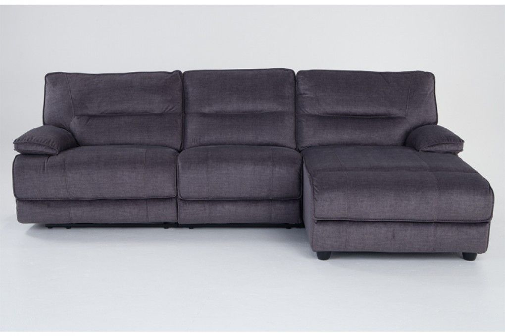 pacifica power reclining 3 piece left arm facing sectional with armless power recliner sectionals