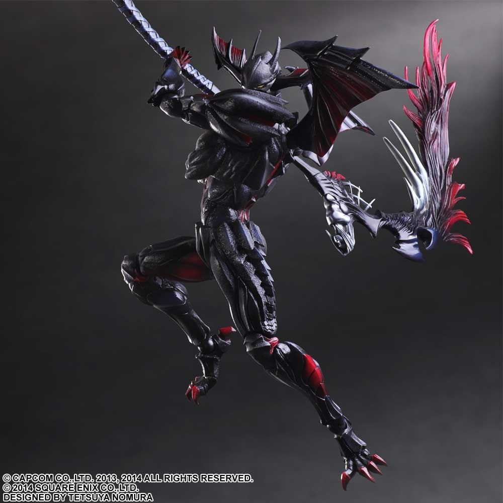 Monster Hunter Ultimate PLAY ARTS KAI Diablos Armor Rage Set - Create invoice app square enix online store
