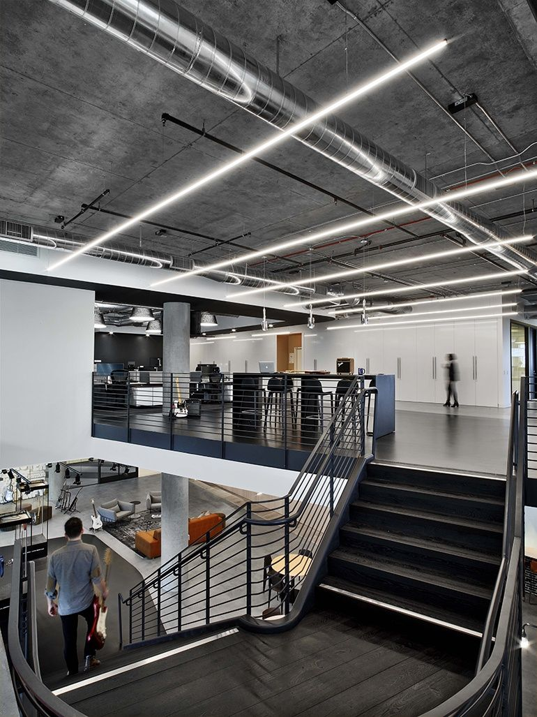 Fender rocks out at new los angeles headquarters by rapt - Interior design school los angeles ...
