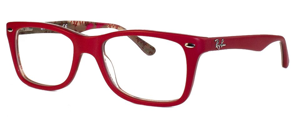 ray ban 5228 red