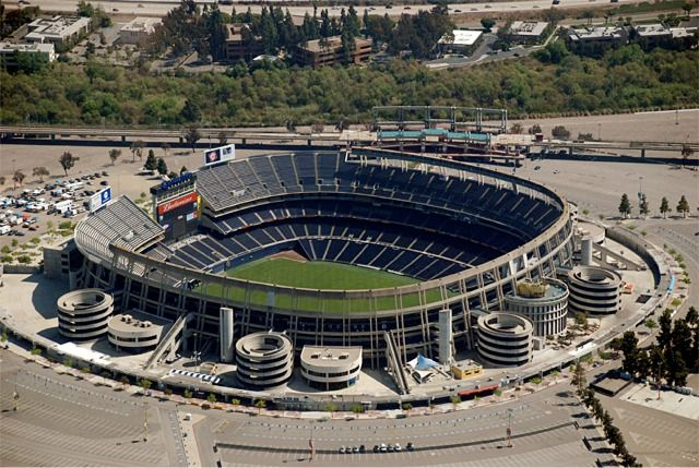 Qualcomm Stadium at Jack Murphy Field- San Diego, CA | San ... Qualcomm Stadium Baseballfootball