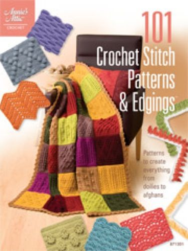 Get 81 unique stitch patterns and 20 edgings using crochet thread or yarn all in one great book! Plus a bonus of two sample afghans made using stitch patterns are included in the book. Each design features a close-up color photograph plus instructions and illustrations when needed. Find open weave lacy stitches, ripples, bobbles, popcorns, textured stitches and more! Edited by Connie Ellison.Skill Level: Easy to Intermediate