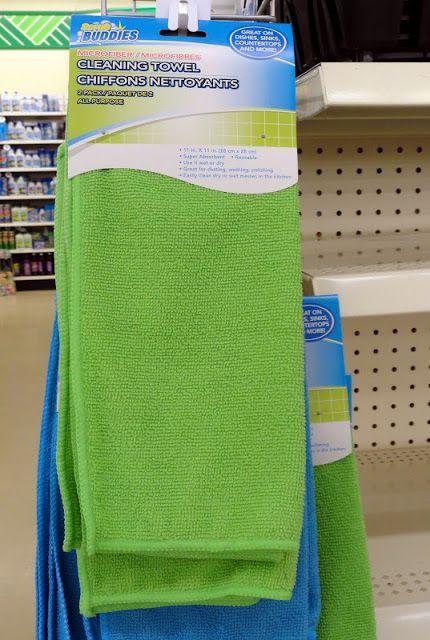 dollar stores cloth paper towels
