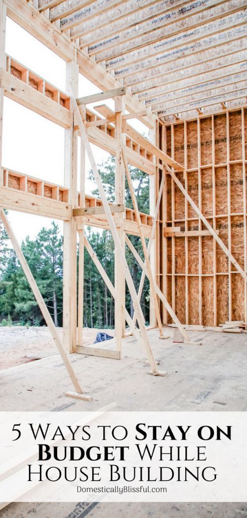5 Ways to Stay on Budget While House Building images