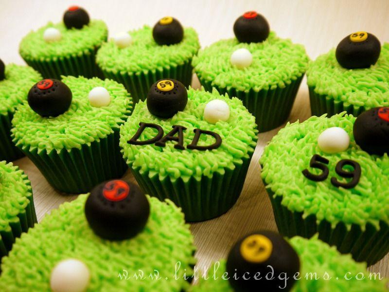 Birthday Bowl: Lawn Bowls Cupcakes - Www.littleicedgems.com