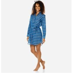 Damen Ready to Wear - Herringbones Turtles Hemdkleid aus Baumwollschleier für Damen - Shirt Dress - #damen #dresses #dresses women #freizeitkleider