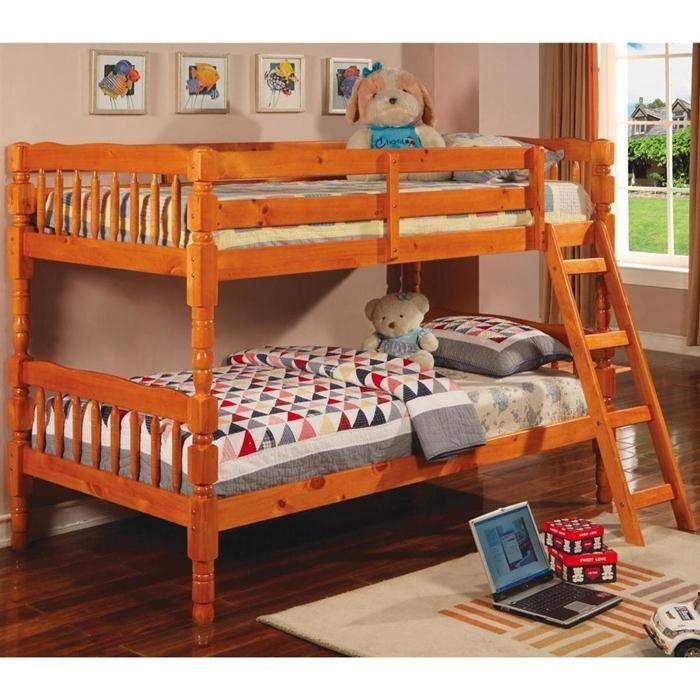 Twin Over Twin Bunk Bed Nebraska Furniture Mart Bunk Beds