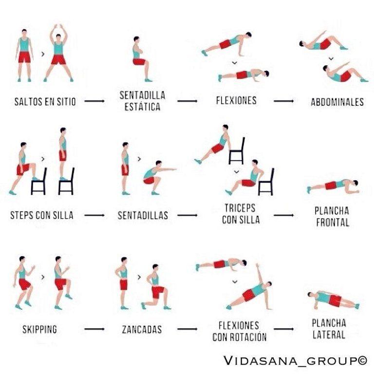 rutina de ejercicio para bajar de peso hombres