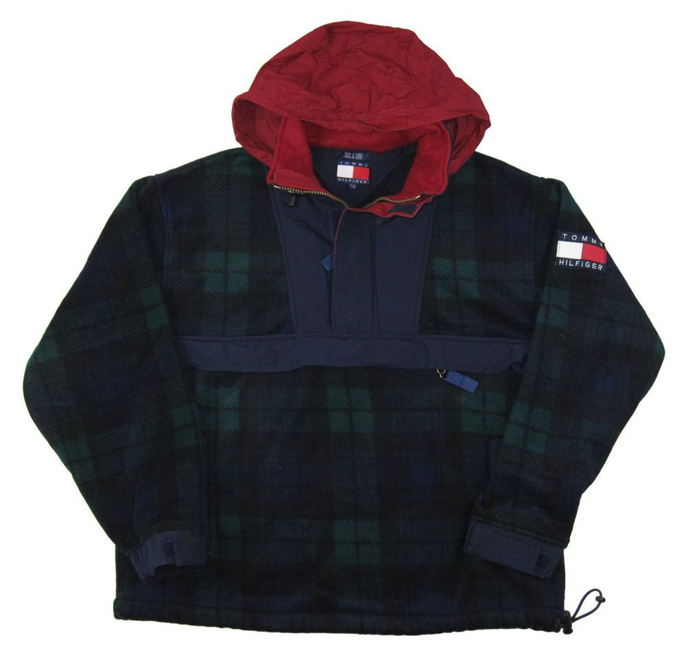 Vintage Patagonia Fleece Pullover Leaf Jacket Retro Snap 90S Mens ...