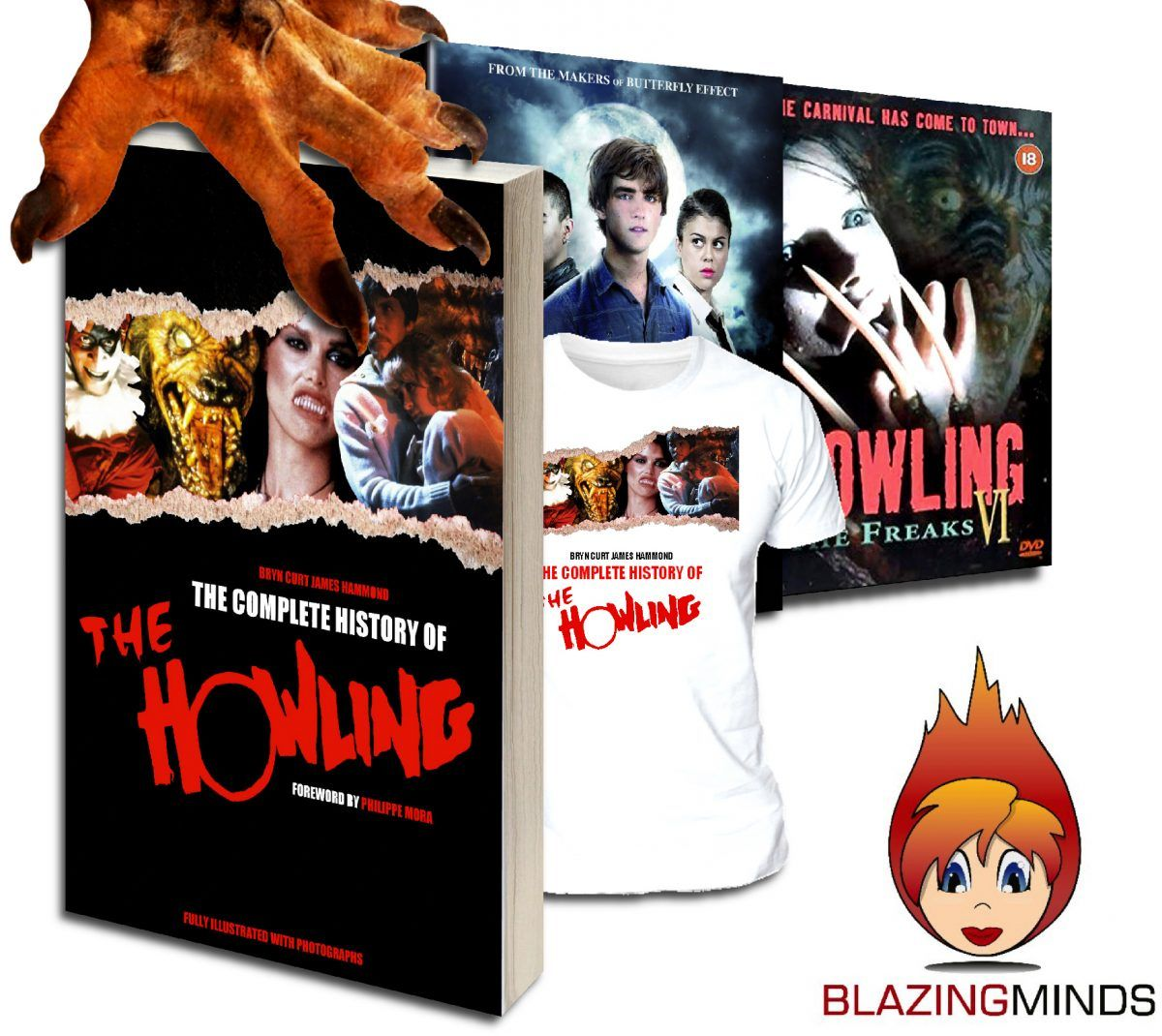WIN 1 of 3 Complete History of The Howling Prize Bundles