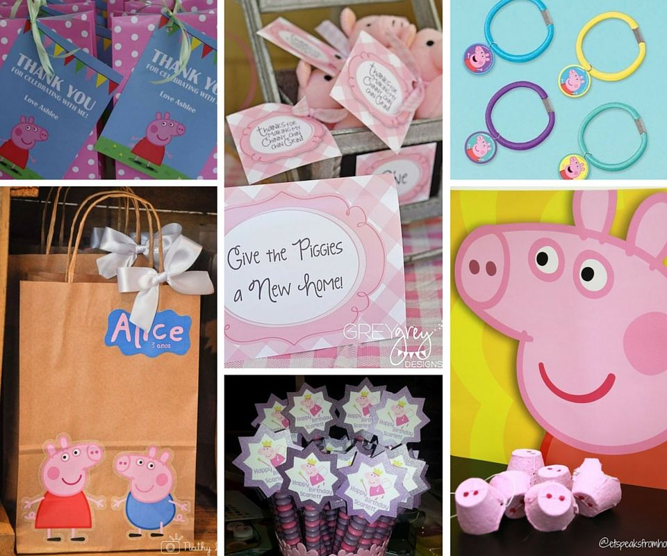 all of the kids will love celebrating with peppa pig party ideas perfect for from birthday in a box