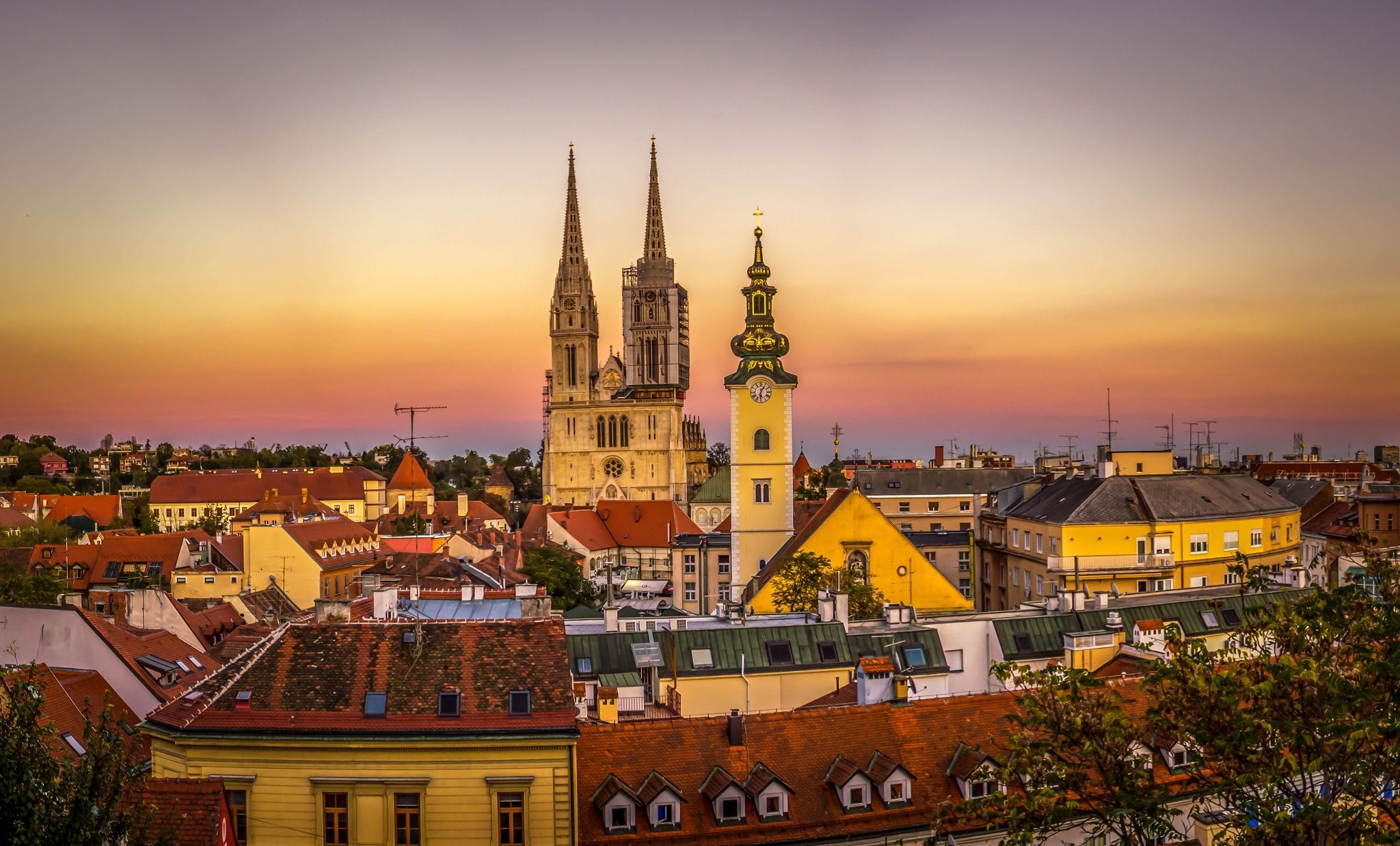 Zagreb Zagreb, Old town, Croatia Zagreb Croatia
