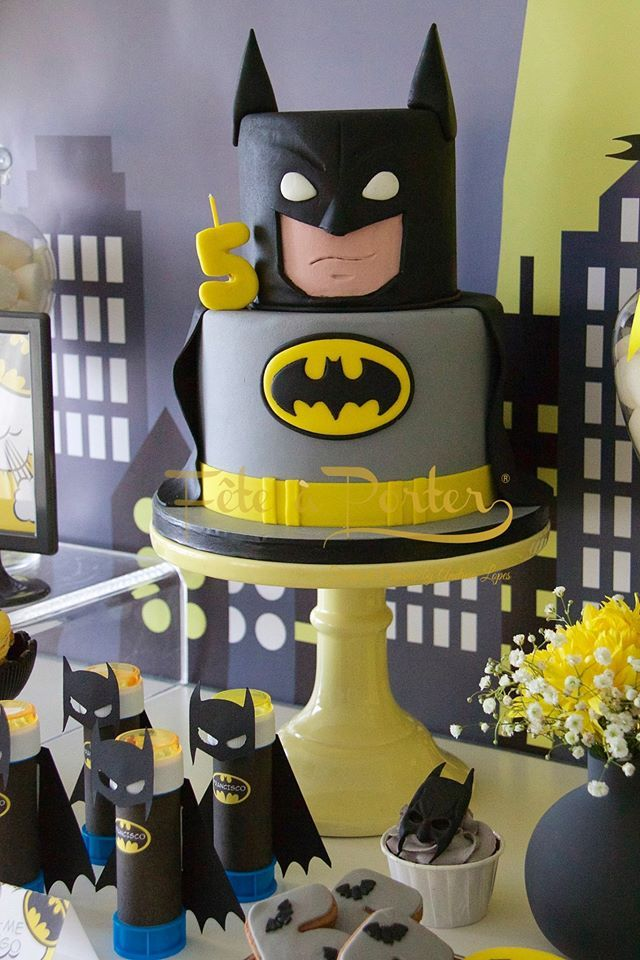 Batman party - Fête à Porter - Festas de Charme by Andreia Lopes