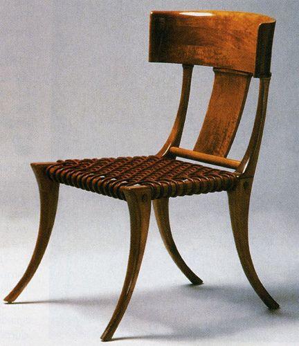 Love Klismos chairs
