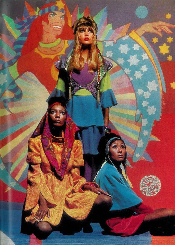 Psychedelic sixties Photo