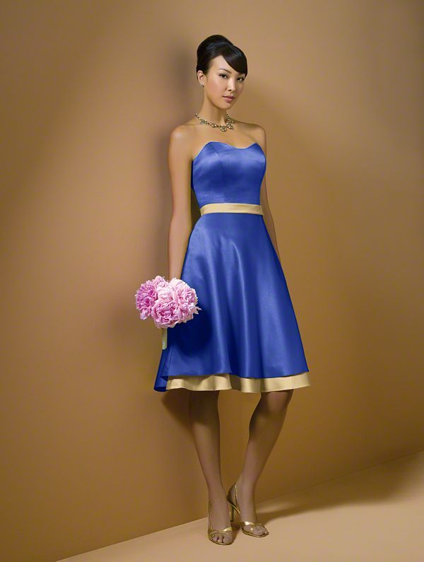 Alfred Angelo Style 7044: Cobalt Blue