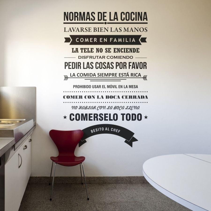 Ideas para decorar tu hogar en Habitissimo | Viniles cocina ...