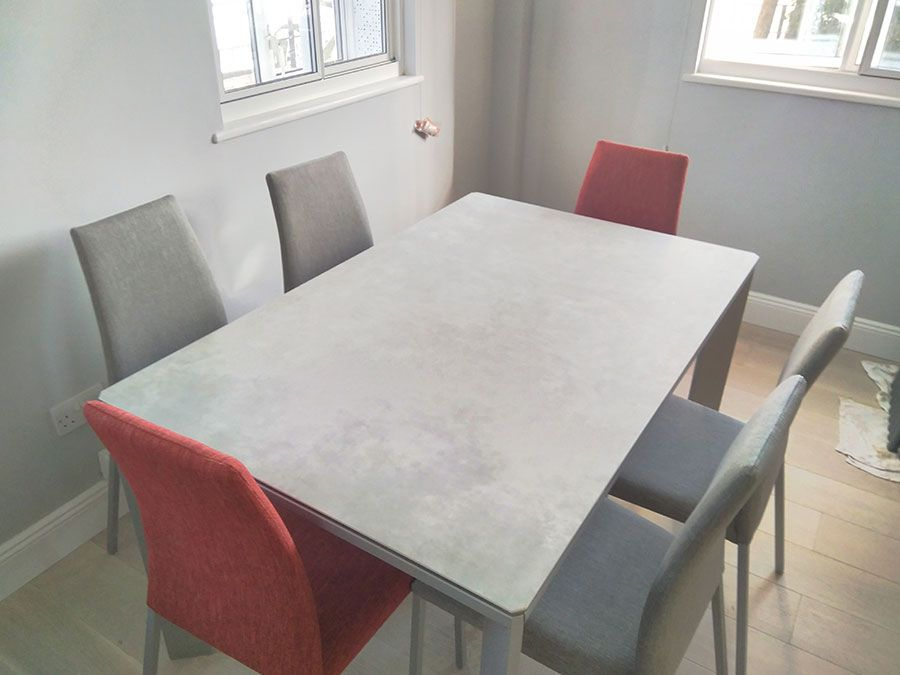 Urban Ceramic Dining Table In 2020 Dining Table Concrete Dining