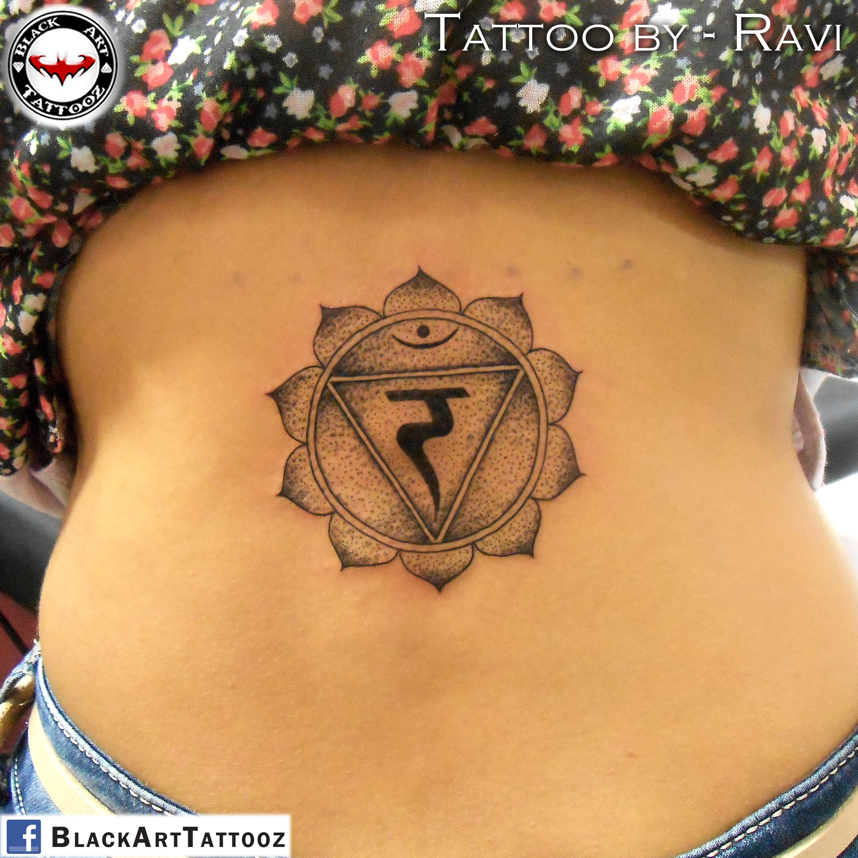 Manipura Chakra : Ram (रं) tattoo done with Hiral Tanna ...