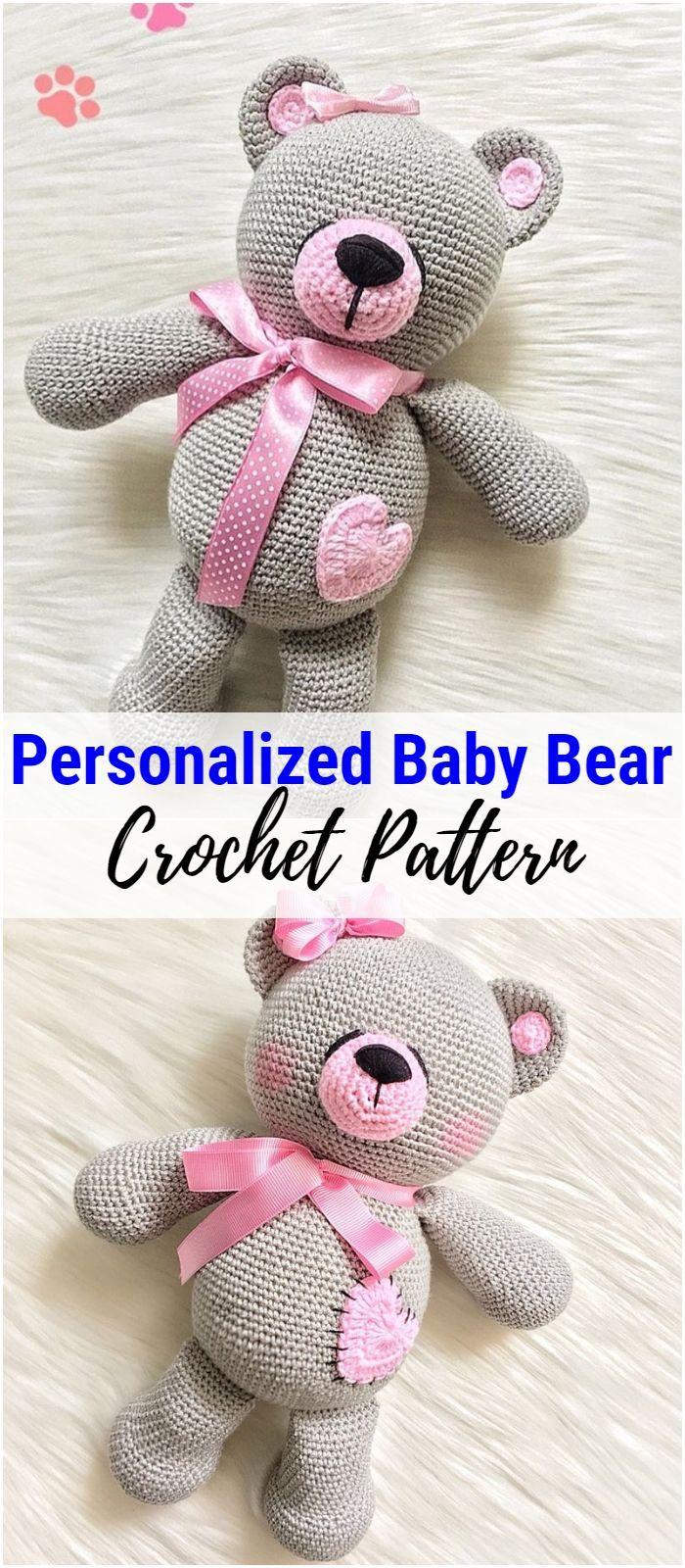 Free Crochet Bear Patterns – Amigurumi Patterns #beartoy