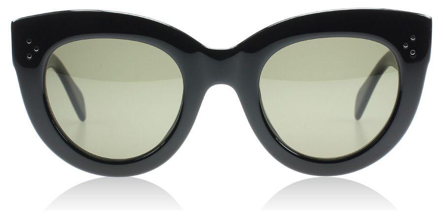 0033938c52c3 Celine Caty Sunglasses   Caty Black 807   UK