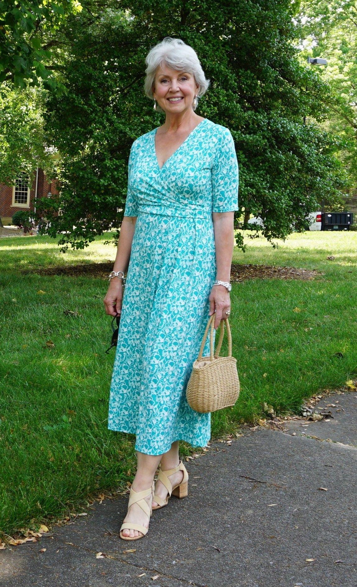 A Summer Dress Over 60 Fashion Stylish Older Women Summer Dresses [ 1889 x 1148 Pixel ]