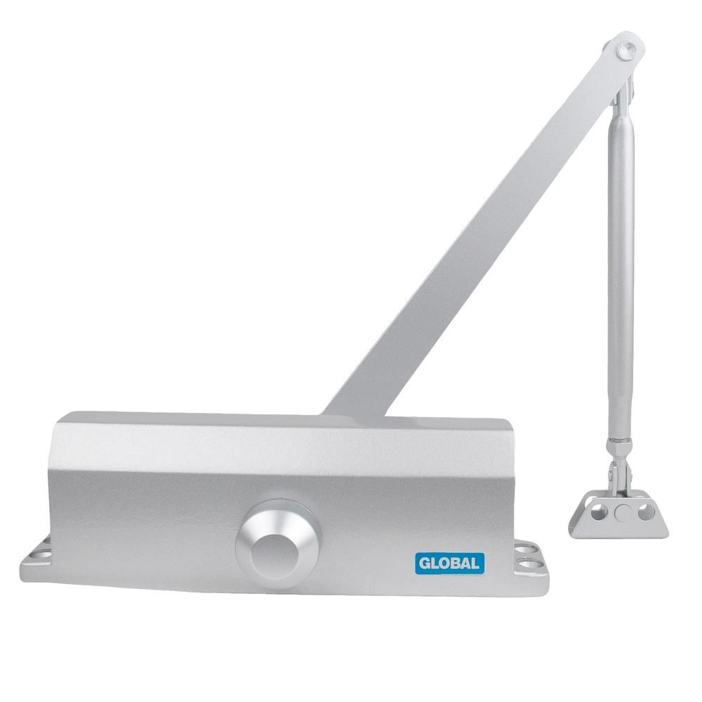 Global Door Controls Size 3 Commercial Door Closer With Standard
