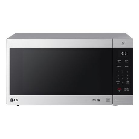 Lg 2 0 Cu Ft Neochef Countertop Microwave Stainless Countertop