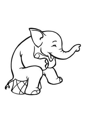 Ausmalbild Zirkus Elefant Zum Ausmalen Ausmalbilder Ausmalbilderelefanten Malvorlagen Ausmalen Schule Ausmalen Elefant Ausmalbild Ausmalbild