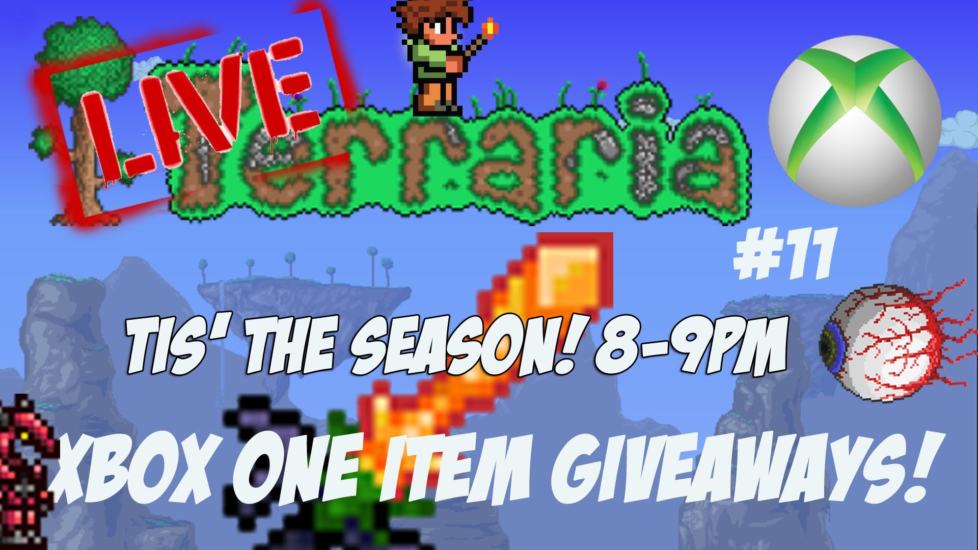 Terraria Xbox One Item Giveaway Tis The Season 11 Xbox One Xbox Tis The Season