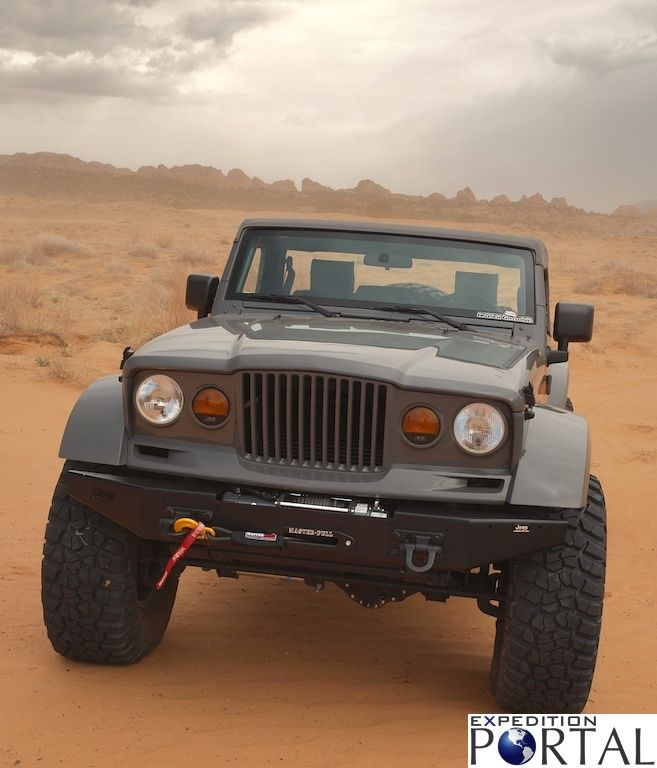 Nukizer Jeep Concept Looks Like The Old Gladiator From Tremors
